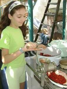 Приготовление томатного пюре